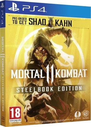 Игра для Play Station 4 Mortal Kombat 11. Steelbook Edition