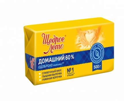 Маргарин Щедрое Лето Домашний 60% 200 г