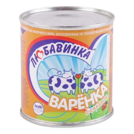 Молоко сгущенное Любавинка Варенка 8,5% СЗМЖ 380 г