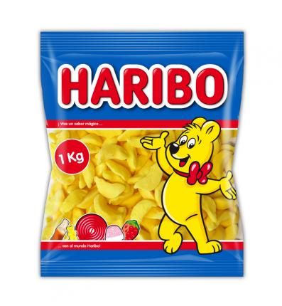 """Haribo Конфеты суфле """"Бананы"""" 1000 гр."""