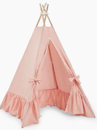 Вигвам Happy Baby HUMPY в комплекте со светильником на шнурке, peach