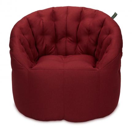 Кресло мешок «Австралия», жаккард, Бордо