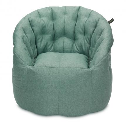 Бескаркасное кресло-мешок «Австралия», жаккард, Мятный