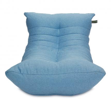 Кресло мешок «Кокон», жаккард, Небесно-голубой