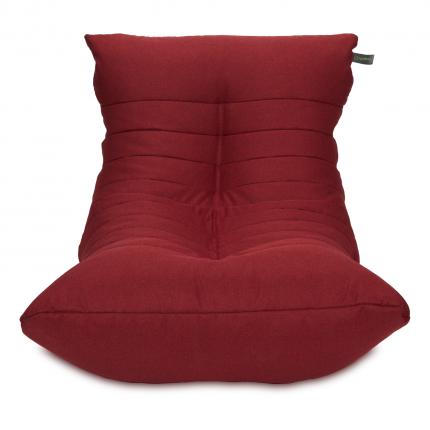 Кресло мешок «Кокон», жаккард, Бордо