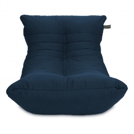 Кресло мешок «Кокон», жаккард, Черничный