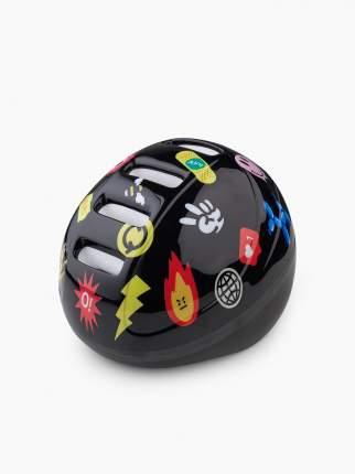Шлем защитный Happy Baby STONEHEAD, size S, jet black