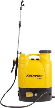 Опрыскиватель Champion SA16 аккум. ранц. 16л желтый/черный