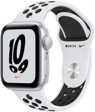 Смарт-часы Apple Watch Nike SE GPS, 40mm Silver with Pure Platinum/Black Nike Sport Band
