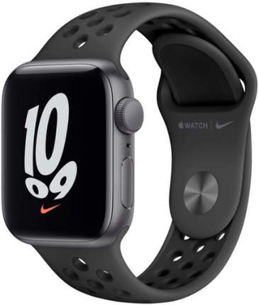 Смарт-часы Apple Watch Nike SE GPS, 40mm Space Grey with Ant/Black Nike Sport Band