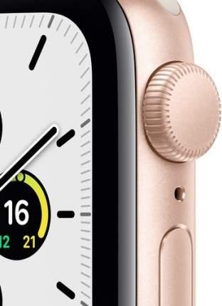 Смарт-часы Apple Watch SE GPS, 40mm Gold with Starlight Sport Band