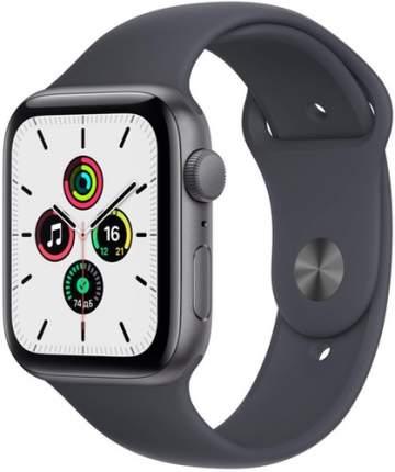 Смарт-часы Apple Watch SE GPS, 44mm Space Grey with Midnight Sport Band