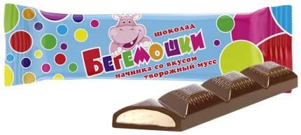 Батончик Невский кондитер Бегемошки с начинкой творожный мусс 45 г