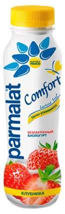Биойогурт Parmalat Comfort питьевой безлактозный клубника 290 г