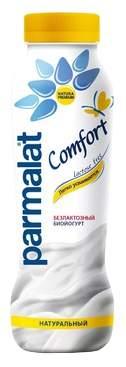 Биойогурт Parmalat Comfort питьевой безлактозный натуральный 290 г