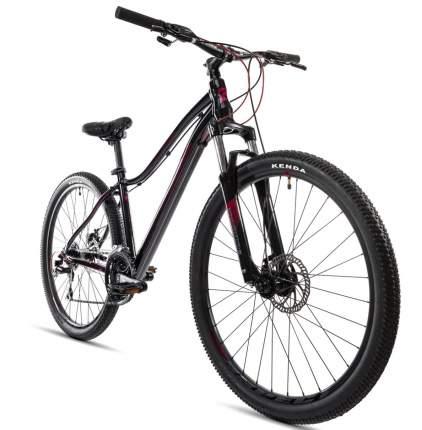 """Велосипед Aspect Alma 27.5 2021 16"""" черно-фиолетовый"""