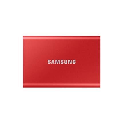 Внешний диск SSD Samsung T7 Touсh 1TB Red (MU-PC1T0R/WW)