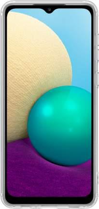 Чехол Samsung Soft Clear Cover для Galaxy A02 Transparent (EF-QA022)