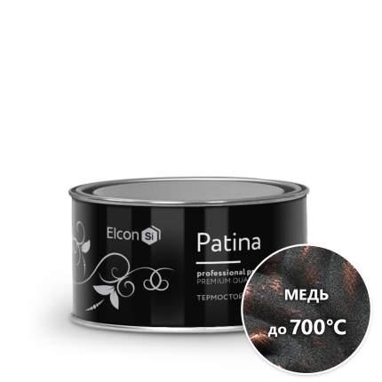 Термостойкая эмаль Патина Elcon Patina до 700° медь (0,08 кг)