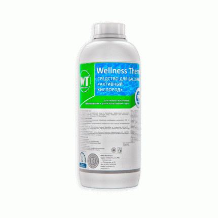Дезинфицирующее средство для бассейна Wellness Therm Активный кислород 312828 1 л