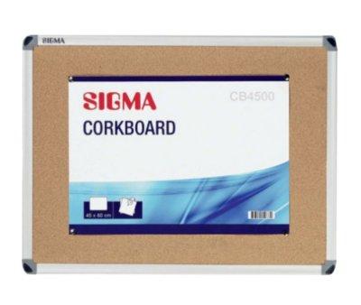 Доска Sigma CB4500 пробковая 45 х 60 см