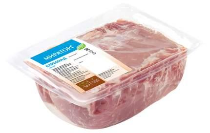 Карбонад свиной Мираторг замороженный +-2,5 кг