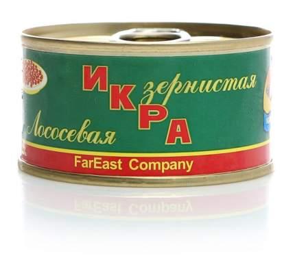 Икра лосося Камчатское море зернистая 140 г