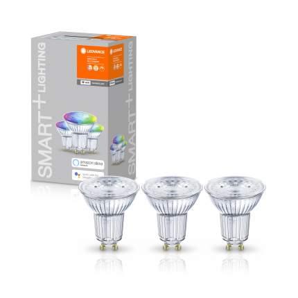 Набор ламп Ledvance SMART+ WiFi GU10 Multicolour 32 45° 5 W/2700…6500K Яндекс 3 шт