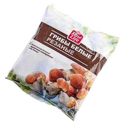 Грибы белые Fine Life резаные быстрозамороженные 0,4 кг