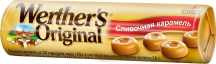 Карамель Werther's Original сливочная 50 г х 24 шт