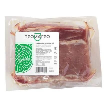 Карбонад свиной без кости Промагро охлажденный ~1 кг