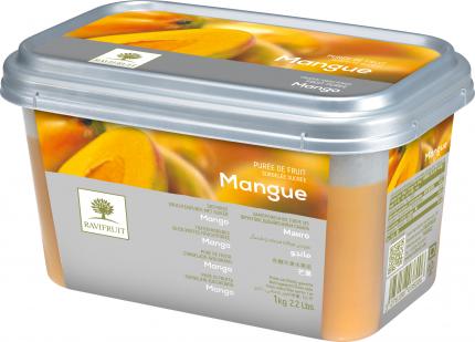 Пюре из манго Ravifruit замороженное с добавление сахара 1 кг