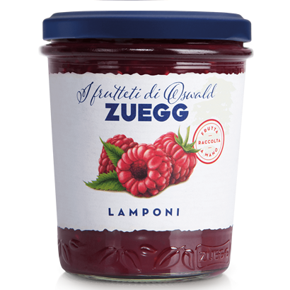 Конфитюр Zuegg экстра малина 320 г