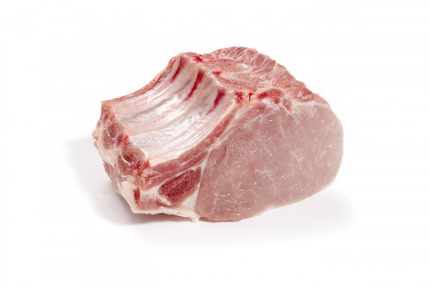 Корейка свиная на кости охлажденная ~1,5 кг