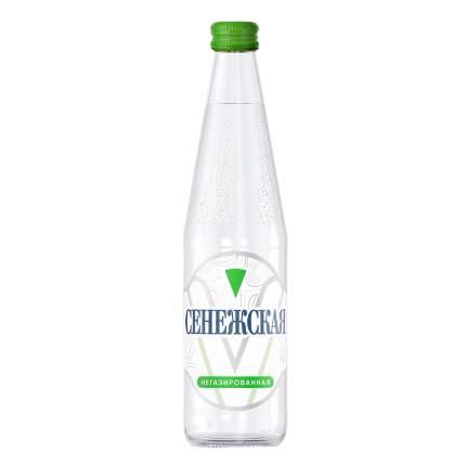 Вода питьевая Сенежская негазированная столовая 0,5 л