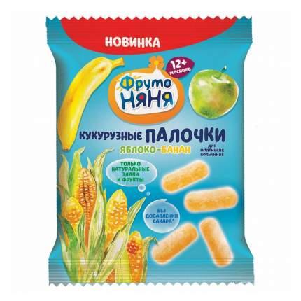 Кукурузные палочки ФрутоНяня яблоко-банан 20 г