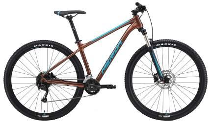 "Велосипед Merida Big.nine 100-3X 2021 20"" bronze/blue"
