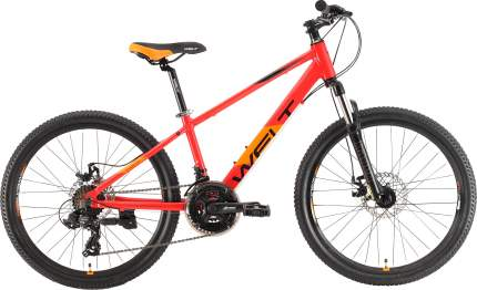 Велосипед Welt Peak 24 Disc 2021 One Size fire red