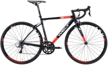 "Велосипед Welt R90 2021 22.5"" matt black/red"