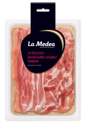 Ассорти мясное La Medea Сет Итальянский сыровяленое нарезка 100 г