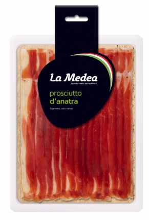 Хамон La Medea Утиный сыровяленый нарезка 60 г