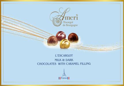 Набор конфет Ameri L'Escargot с карамельной начинкой 165 г