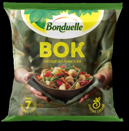Овощная смесь Bonduelle ВОК свежезамороженная 0,4 кг