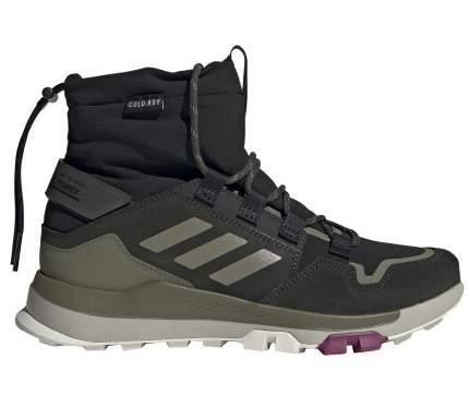 Ботинки Adidas Terrex Hikster Mid, core black/legacy green/legend earth