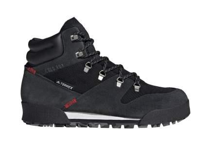 Ботинки Adidas Terrex Snowpitch, black/core black/scarlet