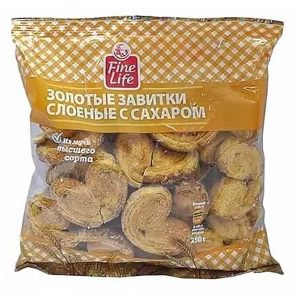 Печенье Fine Life завитки с сахаром 250 г