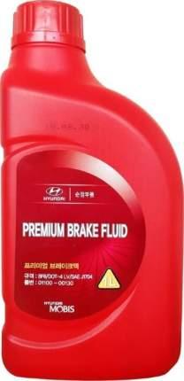 Тормозная жидкость HYUNDAI Premium Brake Fluid DOT-4 (1л)