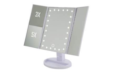 Зеркало косметическое трехстворчатое ENERGY EN-799Т, LED подсветка