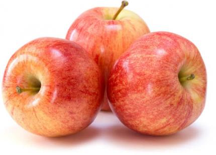 Яблоки Гала в пакете ~1,5 кг