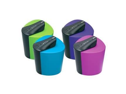 Точилка Berlingo Color Zone пластиковая 1 отверстие с контейнером